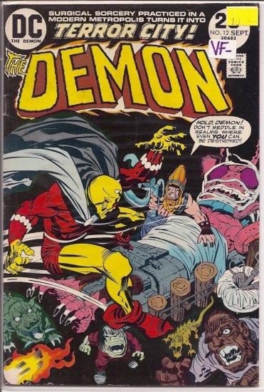 Demon # 12, 7.5 VF -