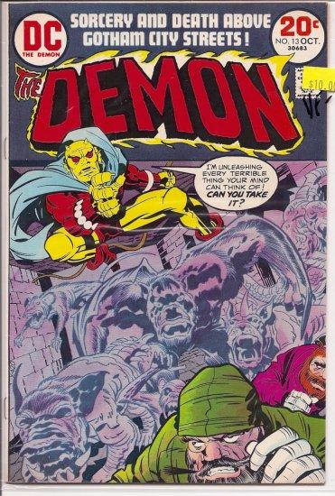 Demon # 13, 7.5 VF -