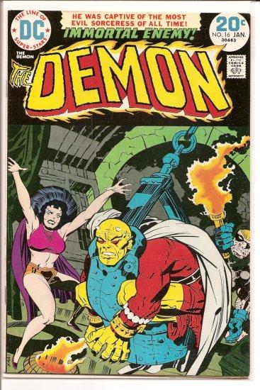 Demon # 16, 7.5 VF -