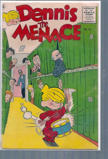 DENNIS THE MENACE # 16, 3.0 GD/VG