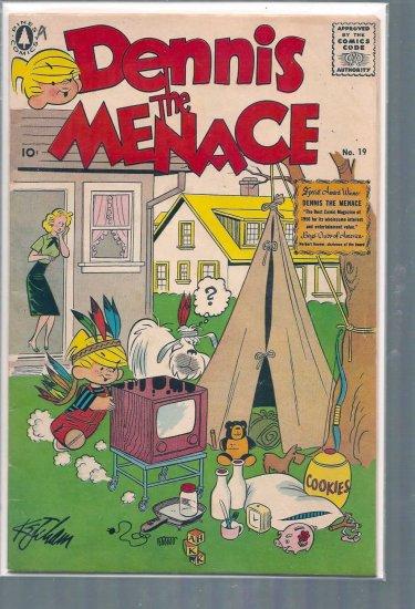 DENNIS THE MENACE # 19, 4.5 VG +