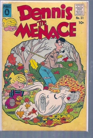 DENNIS THE MENACE # 31, 3.0 GD/VG