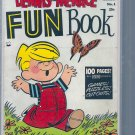 DENNIS THE MENACE FUN BOOK # 1, 4.0 VG
