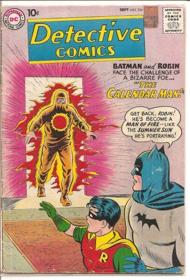 Detective Comics # 259, 3.0 GD/VG