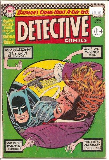 Detective Comics # 352, 4.5 VG +