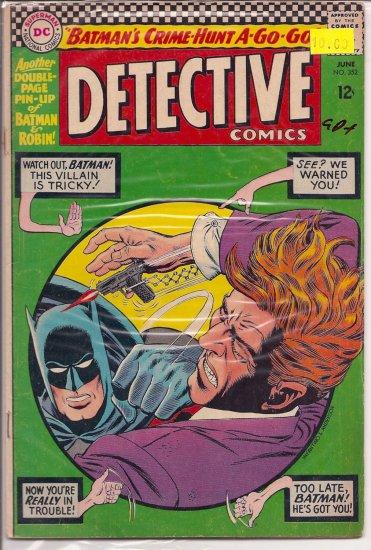 Detective Comics # 352, 2.5 GD +
