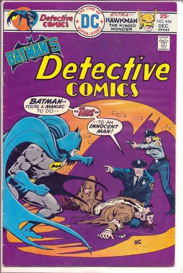 DETECTIVE COMICS # 454, 4.5 VG +