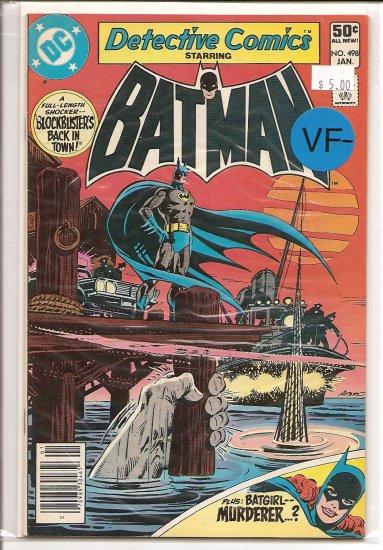 Detective Comics # 498, 7.5 VF -