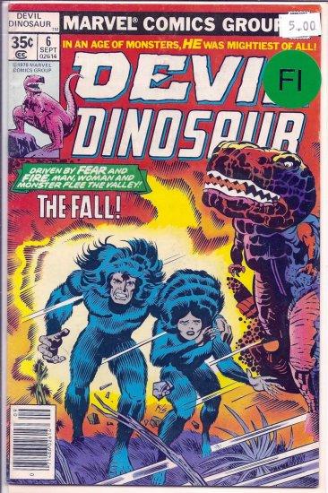 Devil Dinosaur # 6, 6.0 FN