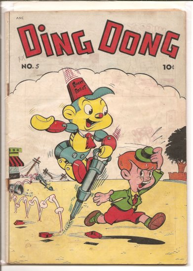 Ding Dong # 5, 4.0 VG
