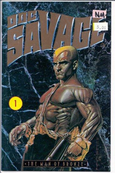 Doc Savage The Man of Bronze # 1, 9.2 NM -