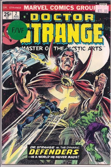Doctor Strange # 2, 7.0 FN/VF