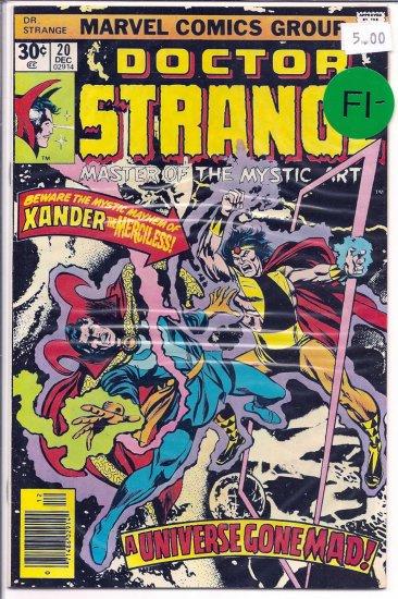 Doctor Strange # 20, 5.5 FN -