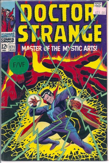 Doctor Strange # 171, 7.0 FN/VF