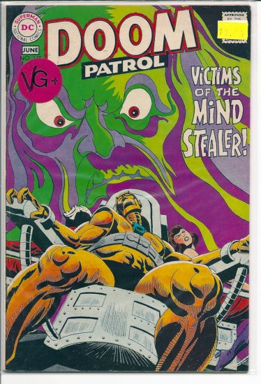 Doom Patrol # 119, 4.5 VG +