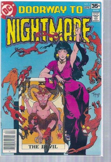 DOORWAY TO NIGHTMARE # 2, 7.5 VF -