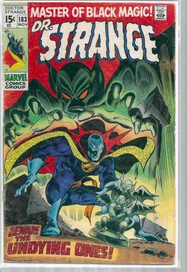DR. STRANGE # 183, 3.5 VG -
