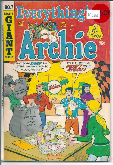 Everything's Archie # 7, 4.5 VG +
