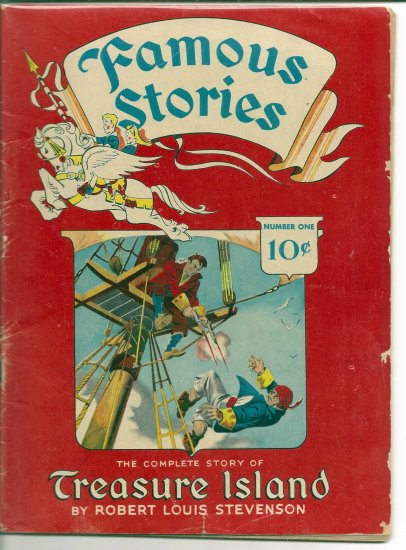 FAMOUS STORIES # 1, 3.5 VG -