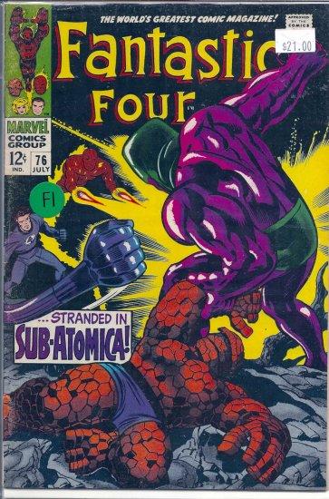 Fantastic Four # 76, 6.0 FN