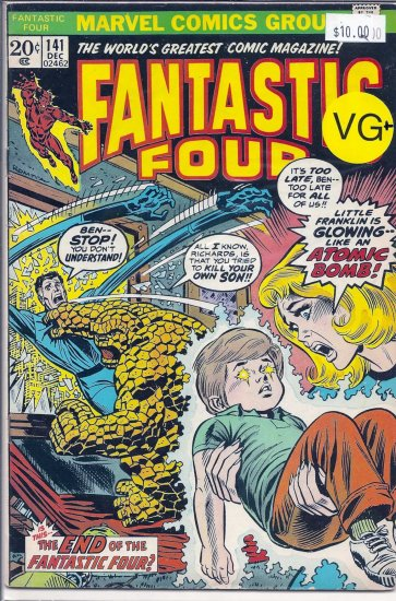 Fantastic Four # 141, 4.5 VG +