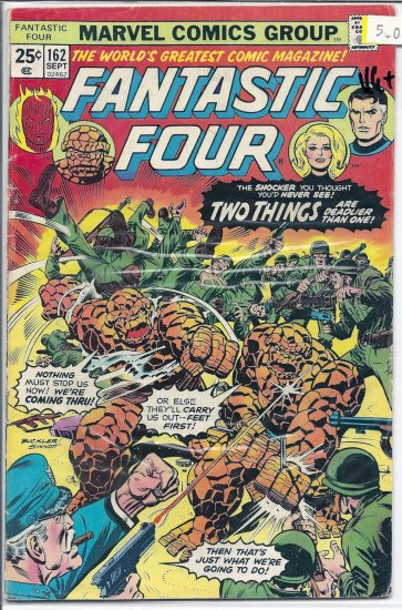 Fantastic Four # 162, 4.5 VG +
