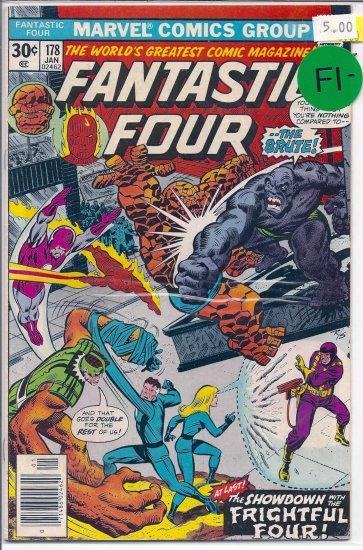 Fantastic Four # 178, 5.5 FN -