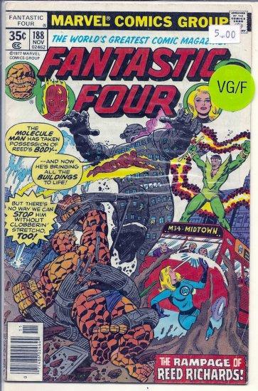 Fantastic Four # 188, 5.0 VG/FN