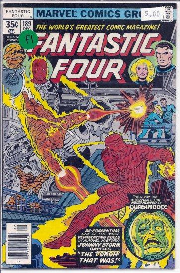 Fantastic Four # 189, 6.0 FN