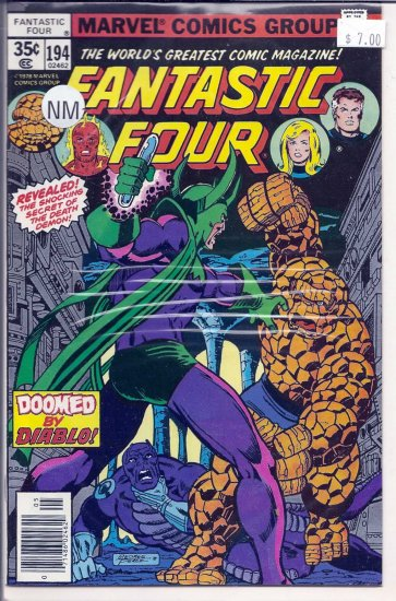Fantastic Four # 194, 9.2 NM -