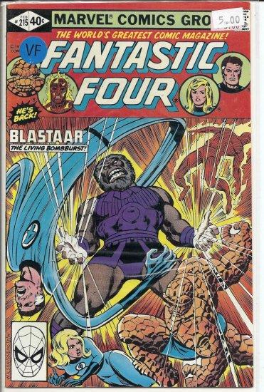 Fantastic Four # 215, 8.0 VF