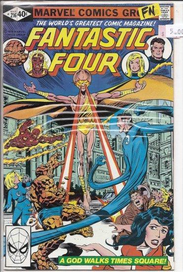 Fantastic Four # 216, 6.0 FN