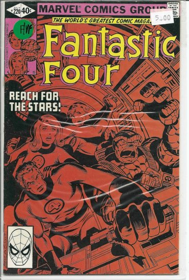 Fantastic Four # 220, 7.0 FN/VF
