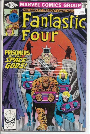 Fantastic Four # 224, 8.5 VF +