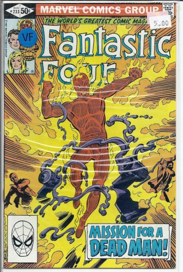 Fantastic Four # 233, 8.0 VF