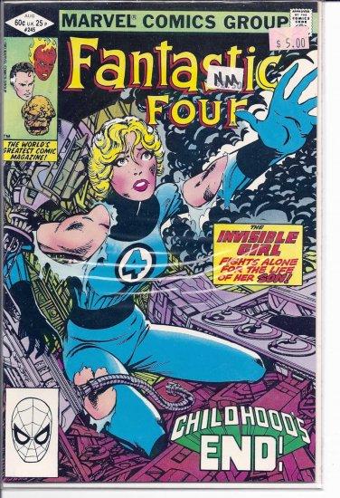 Fantastic Four # 245, 9.4 NM