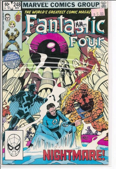Fantastic Four # 248, 9.2 NM -