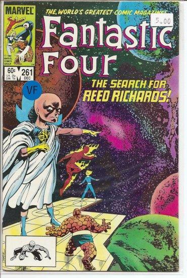 Fantastic Four # 261, 8.0 VF