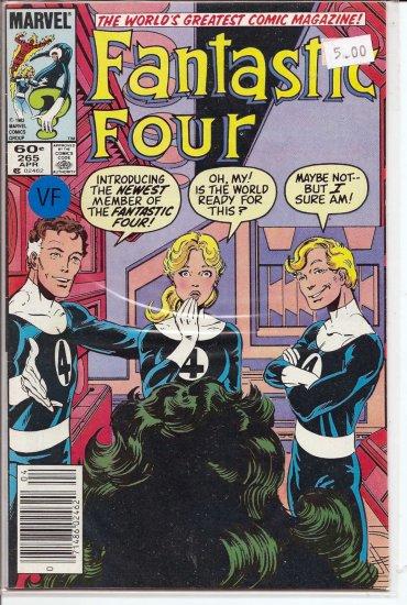 Fantastic Four # 265, 8.0 VF