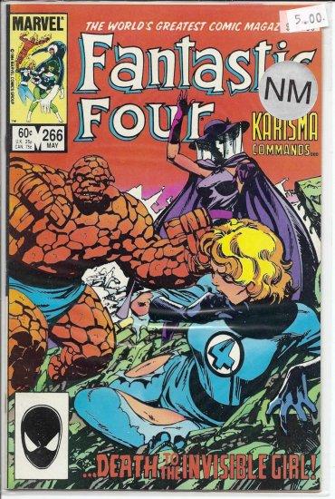 Fantastic Four # 266, 9.4 NM