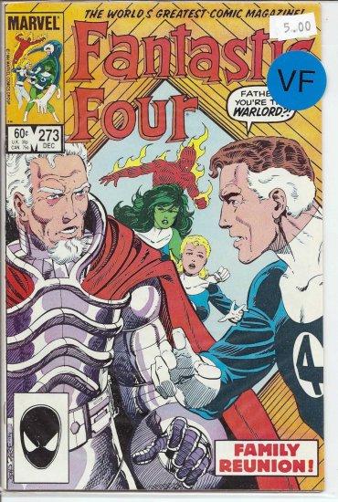 Fantastic Four # 273, 8.0 VF