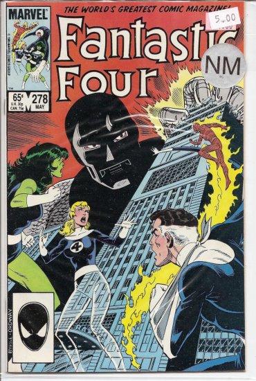 Fantastic Four # 278, 9.4 NM