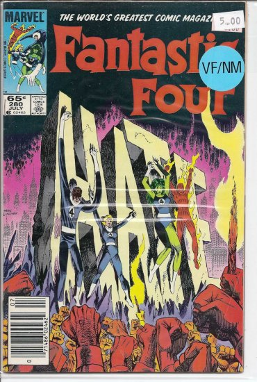 Fantastic Four # 280, 9.0 VF/NM