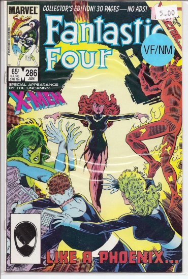 Fantastic Four # 286, 9.0 VF/NM