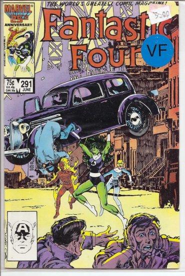 Fantastic Four # 291, 8.0 VF