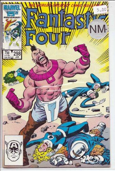 Fantastic Four # 298, 9.2 NM -