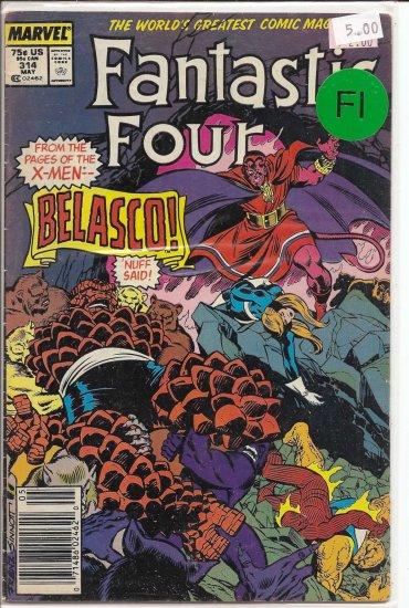 Fantastic Four # 314, 6.0 FN