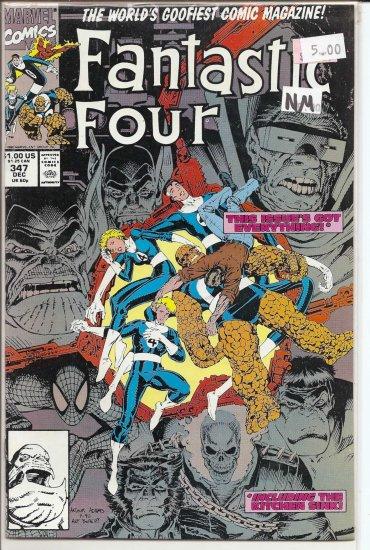 Fantastic Four # 347, 9.4 NM