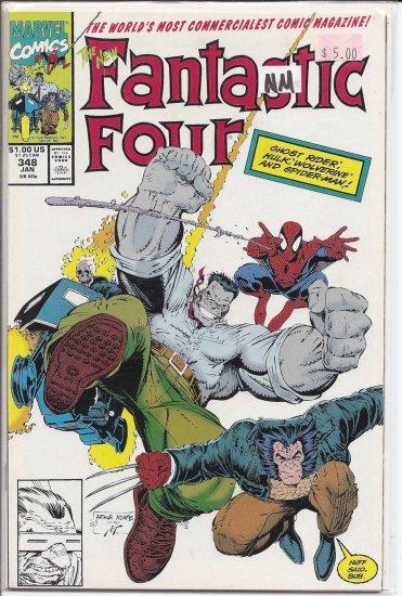 Fantastic Four # 348, 9.4 NM