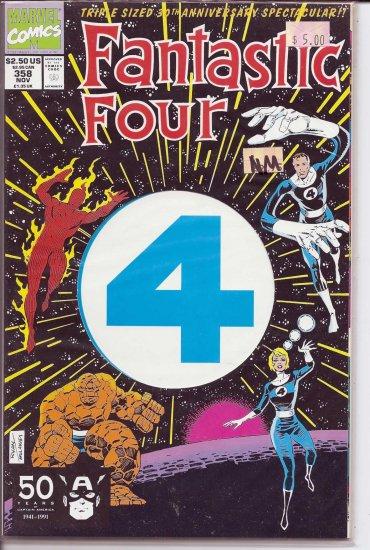 Fantastic Four # 358, 9.4 NM